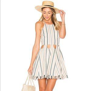 NWT Helix Dress in La Rochelle Stripe by Tularosa